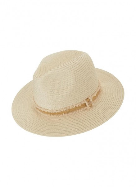 Fedora Hut creme/gold