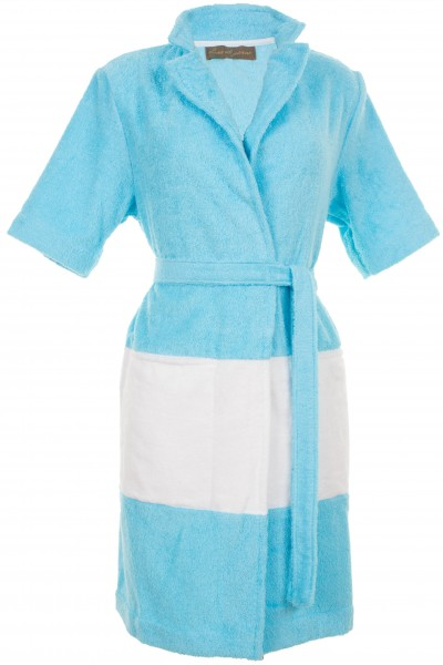 Terrycloth bathrobe