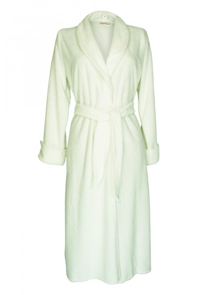 Bathrobe white medium