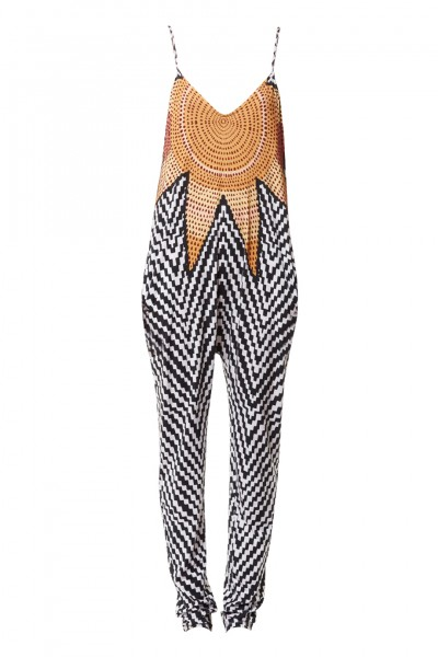 Jumpsuit with pattern print