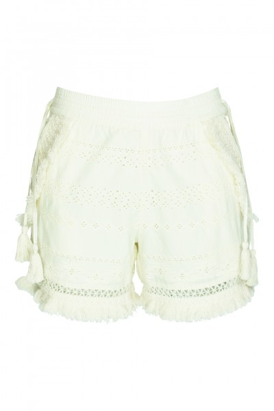 Karlene lace shorts