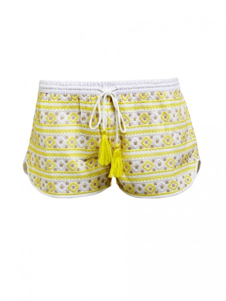 Shorts Carolina white/Yellow