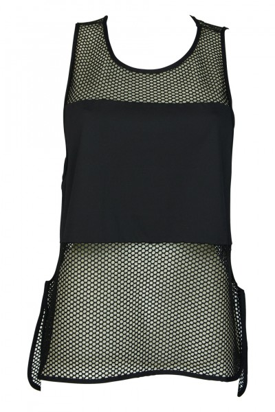 Ella Black net top