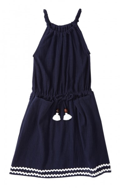 Girls Grace Kleid Navy