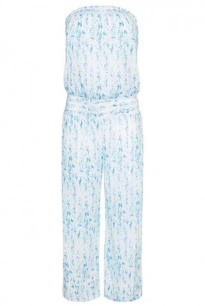 Milos Smocked Jumpsuit