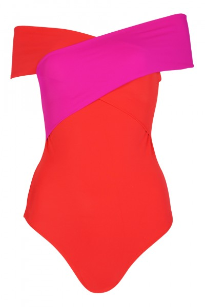 Zenia swimsuit red/fuchsia