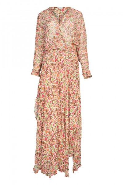 Ilona maxi dress in pink yvonne
