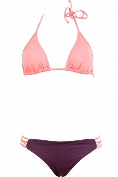 Triangle bikini, skinnie mannie top, low down