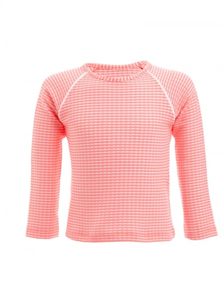 Baby Dakota Swim Shirt Fluro-ribbed