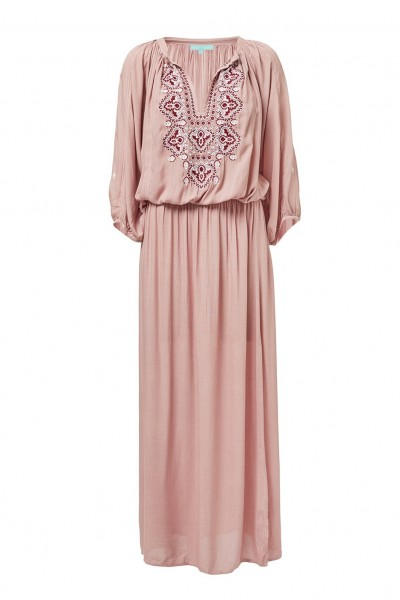 Sienna embroidered maxi dress