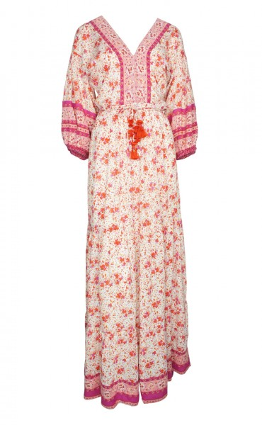 Mia Maxi Dress Rose