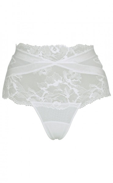 Must High-Waist String White