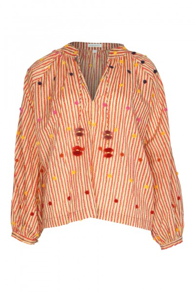 Irma Blouse Red