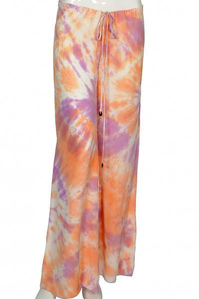 Couture silk trousers