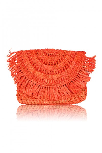 Mia Mini Clutch in rot