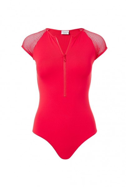 Honolua swimsuit red