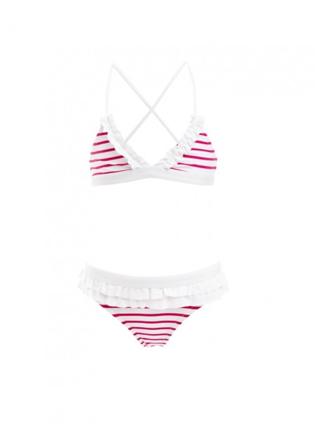 Baby New York Bikini Berry Stripe