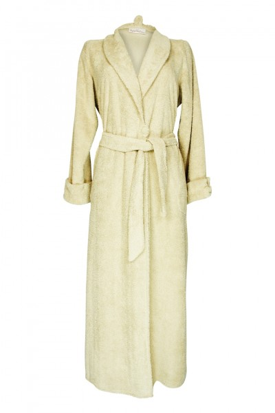 Bathrobe beige long