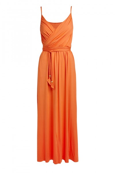 Maxidress Zoe orange